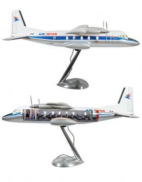 Nord 262 Air inter, cutaway...