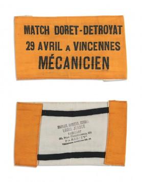 Fabric armband