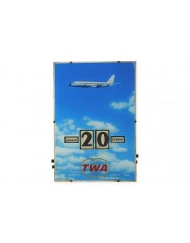 French TWA perpetual calendar