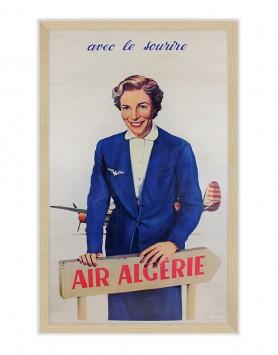 Affiche Air Algérie