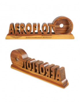 Aeroflot display stand
